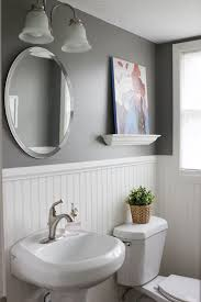 Image Wall Cabinet Interior White Beadboard Bathroom Incredible Clean Classic And Practical Small Toilet Sinks With From Dreamingincraftcom White Beadboard Bathroom Modern Give New Look To Your Small Size