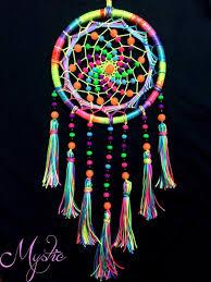 Buy A Dream Catcher Buy Dreamcatchers online Mystic UV Reactive Colourful Dream 33