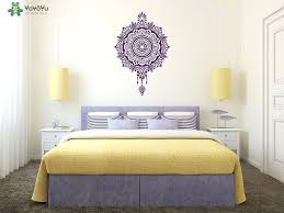 wall decals for master bedroom style wall decal master bedroom headboard vinyl wall stickers beautiful mandala flower sticker yoga vinyl wall decals for