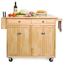 portable kitchen islands cart