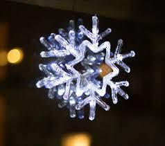 Led Schneeflocke Weihnachten Fenster Beleuchtung Fensterbild