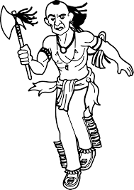 Small Picture American Indian Coloring Page Wecoloringpage