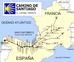 camino de santiago map Camino De Santiago Map map camino frances camino de santiago mapa