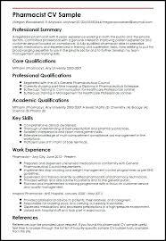 Resume Template For Pharmacist Best of Pharmacist Resume Templates Lespa
