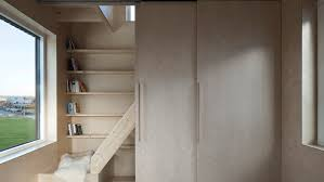 furniture save space. Sliding Doors And Built-in Furniture Save Space Inside Skinny House By Ana Rocha Architecture