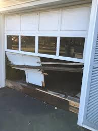 garage door accidents why they happen ugly broken garage door jpg