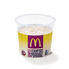 Mcdonalds Uk Nutrition Chart Oat So Simple Breakfast Porridge Mcdonalds Uk