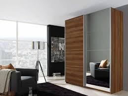 blair sliding door wardrobe in stirling oak and mirrors