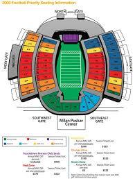 Auburn Stadium Seating Chart Milan Puskar Stadium Seating Chart