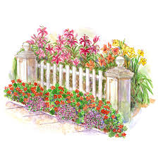 Small Picture Easy Front Yard Garden Plan