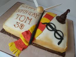 Harry Potter Birthday Cake Whitley Cakes