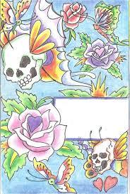Ed Hardy Flower Design Ed Hardy Hellfire Designs