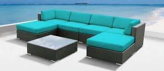 review of the 7pc luella outdoor patio wicker sofa sectional set