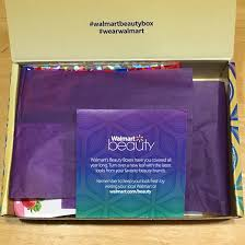 walmart beauty box fall 2016 box inside