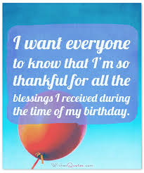 My Birthday Quotes Gorgeous Birthday Thank You Messages The Complete Guide