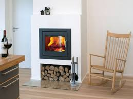 contemporary wood burning fireplaces | Wood Burning Fireplace Inserts  Reviews Modern Wood With Classic Chair .
