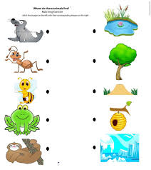 animal home clipart. Beautiful Clipart Animals And Their Homes Clipart Matching To Home Worksheet Crafts Worksheets Throughout Animal