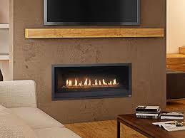 linear gas fireplace. ProBuilder™ 42 Linear Gas Fireplace F