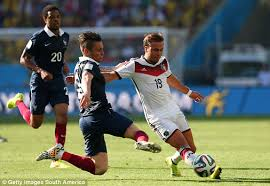 Prancis vs Jerman