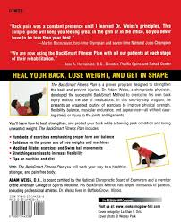 A Fitness Plan The Backsmart Fitness Plan A Total Body Workout To Strengthen And