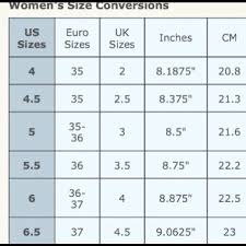 Tory Burch Shoes Size Chart Bedowntowndaytona Com