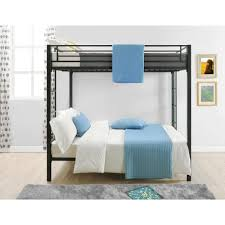 Bunk Bed : Beds Twin Over Double A Full Black With Stairs Metal ...