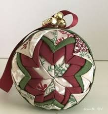 No Sew Quilted Christmas Ornament   Quilted christmas ornaments ... & No Sew Quilted Christmas Ornament Adamdwight.com