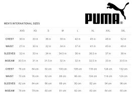 Puma Golf Size Chart 45 Detailed Puma Golf Sizing Chart