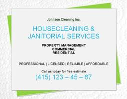 Cleaning Advertising Ideas 14 Free Cleaning Flyer Templates House Or Business
