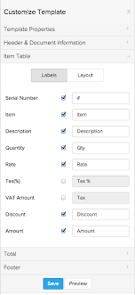 Table Labels Template Zoho Inventory Templates For Transactions