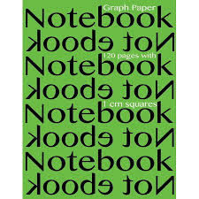 Graph Paper Notebook 120 Pages With 1 Cm Squares 8 5 X 11 Inch