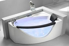 modern corner jet tub best of eago 5 white acrylic corner whirlpool bathtub left drain am198