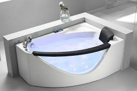 modern corner jet tub best of eago 5 white acrylic corner whirlpool bathtub left drain am198