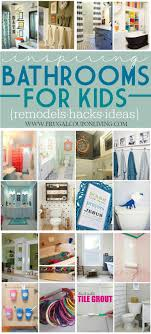 Inspiring Kids Bathrooms - Decorations, Remodels and Hacks on Frugal Coupon  Living. Girls Bathroom