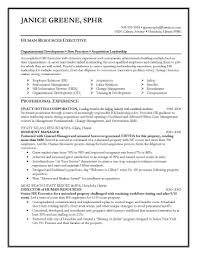Sample Resume For Human Resources Position Inspirational Collection