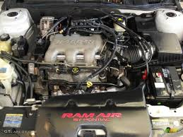2002 Pontiac Grand Am GT Sedan 3.4 Liter OHV 12-Valve V6 Engine ...