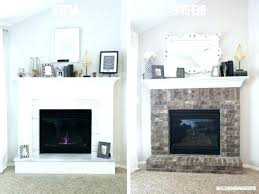 brick fireplace makeover fresh fireplace remodel and photo 2 of superior fireplace makeover ideas 2 best
