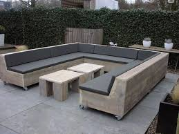 pallet furniture garden. Photo 10 Of 13 Attractive Outdoor Pallet Furniture Plans: If You Need Space Then Make It From Garden