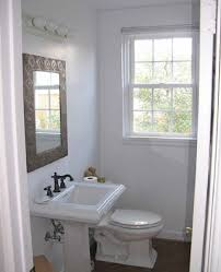 Bathroom  Bathroom Interior Square Carned Metal Frame Wall Mirror - Great small bathrooms