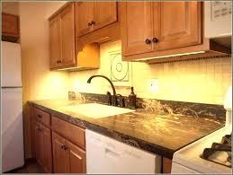 installing under cabinet led lighting kitchen strip kit