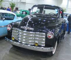 All Chevy chevy classic cars : File:'53 Chevrolet Advance Design (Toronto Spring '12 Classic Car ...