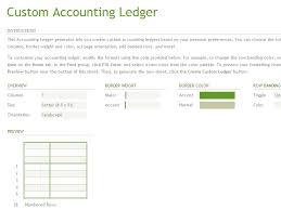 accounting ledger template account ledger generator office templates