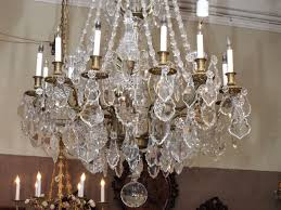 antique french louis xvi baccarat crystal chandelier for 1