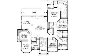 european house plan pennington 30 602 main floor plan