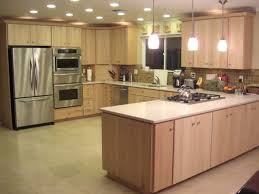 light maple kitchen cabinets. Light Maple Kitchen Cabinets Luxury Natural 7145 Throughout Remodel 13 Bitspin F