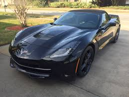 2015 corvette black. Beautiful 2015 FS 2015 Corvette Convertible Triple Black  61900 And D