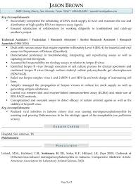 ... chemistry lab assistant resume sample