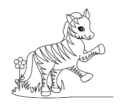 Small Picture Zebra coloring pages printable ColoringStar