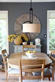 Country Home Accents And Decor Benjamin Moore Gray on dining room feature or accent wall Country 57
