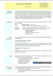 Technical Resume Objective Examples Internship Resume Examples Internship Resume Format Engineering 77